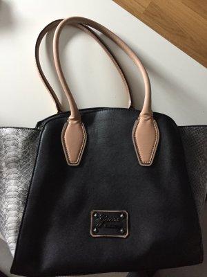 Guess Handtasche schwarz/ grau/ hellbraun