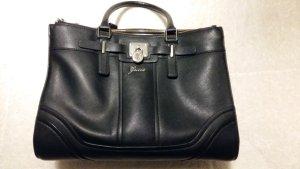 Guess Handtasche schwarz / weiß