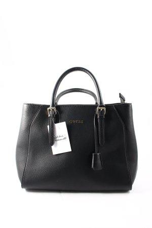 "Guess Handtasche ""Sissi Satchel Bag Black "" schwarz"