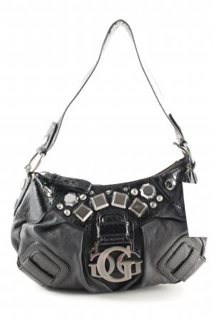 Guess Bolso taupe-negro estampado de animales estampado animal
