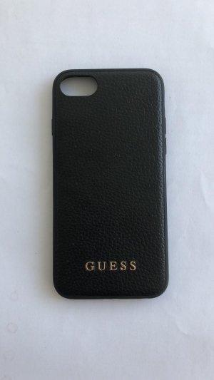 Guess Hoesje voor mobiele telefoons zwart