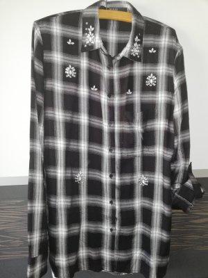 Guess Long Sleeve Shirt black cotton