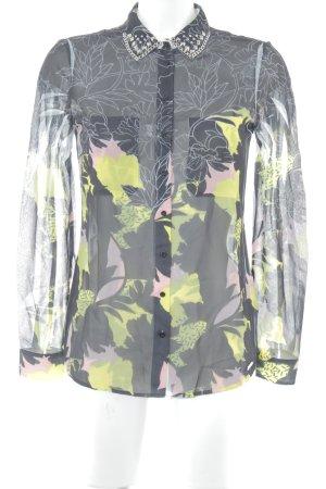 Guess Camicia blusa stampa astratta stile casual
