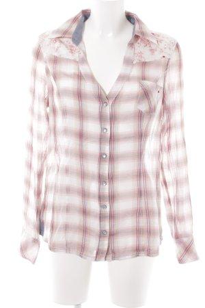 Guess Camicia blusa motivo a quadri stile casual