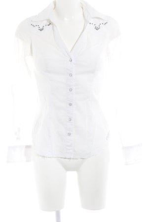 Guess Hemd-Bluse weiß Elegant