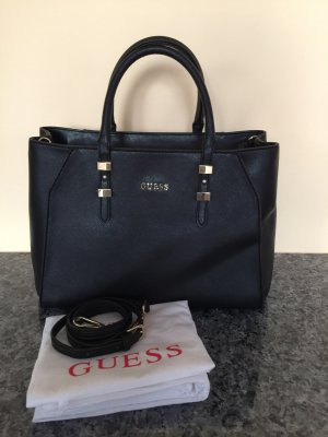 Guess Carry Bag black-gold-colored