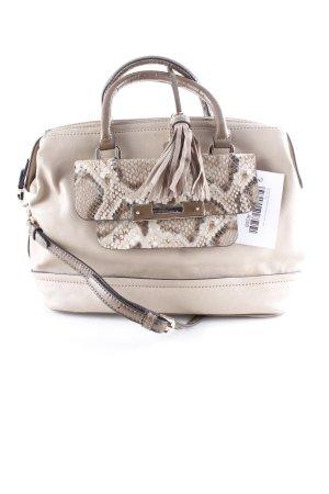 Guess Carry Bag beige animal pattern animal print