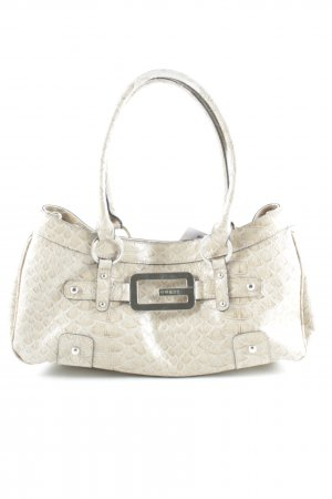 Guess Carry Bag beige animal pattern casual look