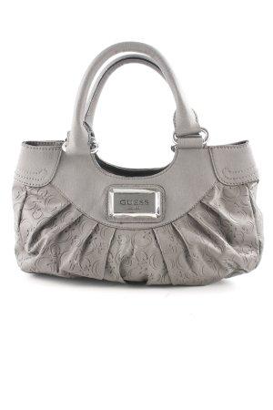 Guess Sac Baril gris motif abstrait style extravagant