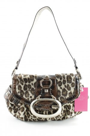 Guess Bolso barrel estampado de leopardo look casual
