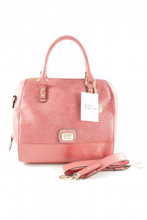 Guess Bolso barrel magenta estampado de animales estampado animal