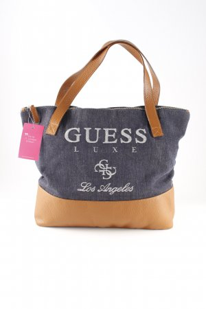 Guess Carry Bag themed print casual look