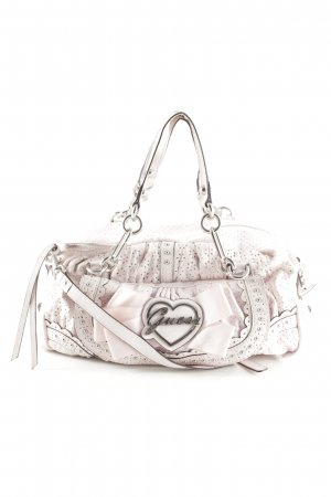 Guess Carry Bag pink-light grey romantic style