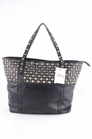 Guess Carry Bag black-gold-colored casual look