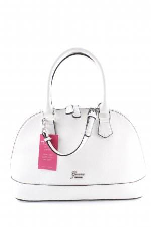 Guess Carry Bag white-black casual look