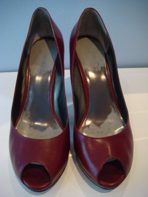 Guess High Heel Platform Peeptoe Pumps, Gr. 8M