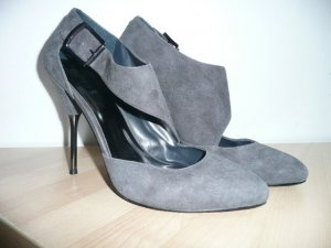 Guess High Heel Pumps aus Veloursleder grau Gr 41