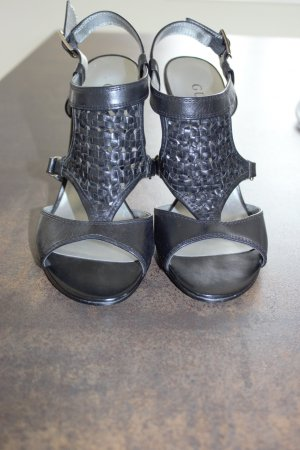 Guess High-Heeled Sandals black leather