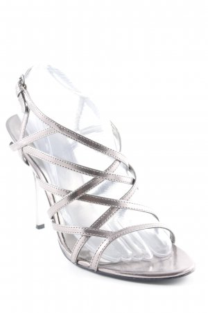 Guess High Heel Sandal silver-colored elegant