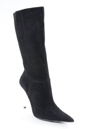 Guess High Heel Stiefel schwarz-silberfarben Elegant