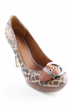 Guess High Heels Animalmuster Animal-Look