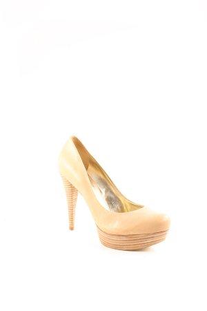 Guess High Heels beige-hellbeige Party-Look