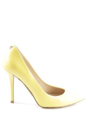 Guess High Heels blassgelb Casual-Look