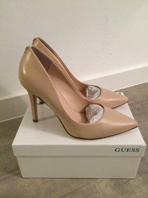 Guess High Heels blix , Pumps beige / nude Größe 38