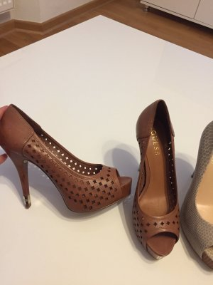 Guess High Heels cognac