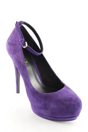 Guess Tacones altos violeta oscuro estilo fiesta