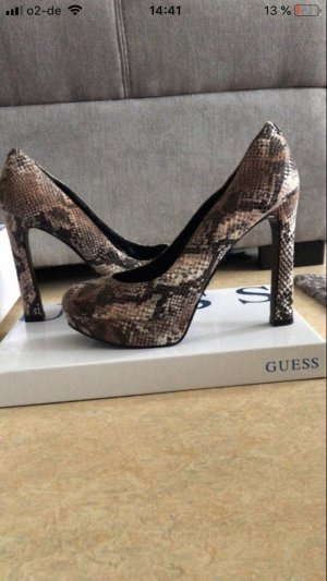 Guess Platform Pumps multicolored