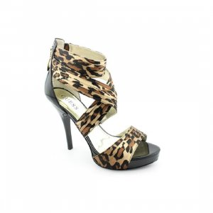 *GUESS* HIGH HEELS IN GR 39 NEU SCHWARZ-LEOPARD
