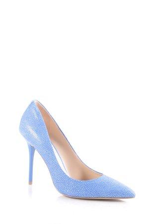 Guess High Heels kornblumenblau-hellblau klassischer Stil