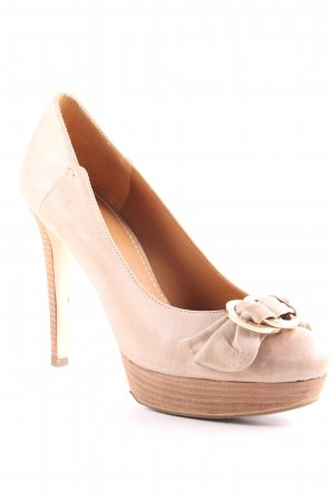 Guess High Heels sandbraun Elegant