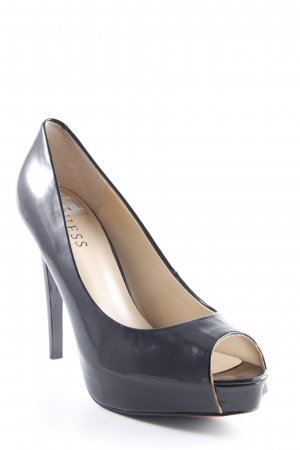 Guess High Heels schwarz-beige Party-Look