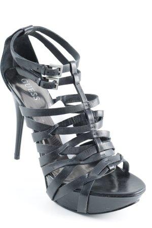 Guess High Heels schwarz Party-Look