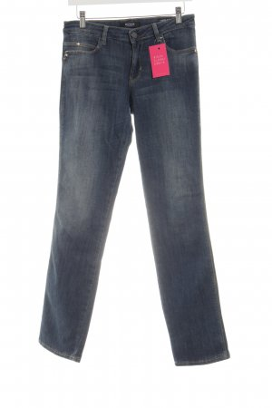 Guess High Waist Jeans neon blue casual look