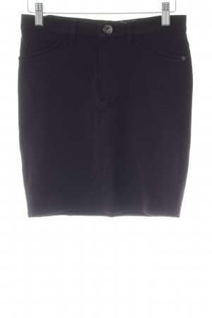 Guess High Waist Rock schwarz Business-Look