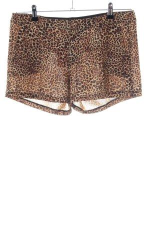 Guess High-Waist-Shorts Animalmuster Casual-Look