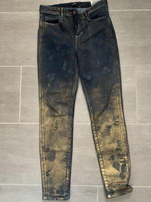 Guess hoch geschnittene Hose mit auffälligen Farbverlauf