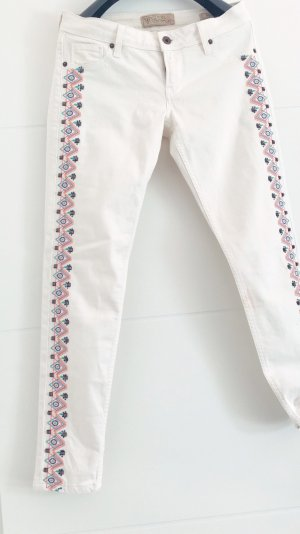 Guess Strapped Trousers white