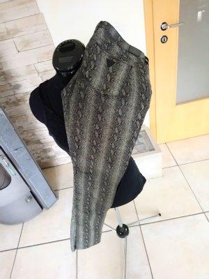 Guess Pantalone nero-beige chiaro