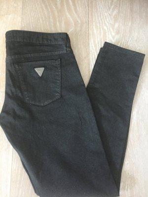 Guess Pantalone jersey nero Tessuto misto