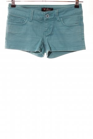 Guess Hot Pants turquoise casual look