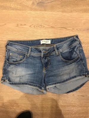 Guess Hot pants azuur-leigrijs