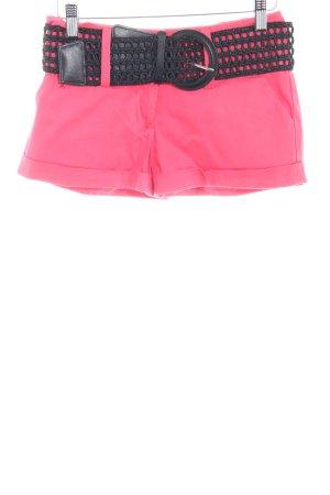 Guess Pantalón corto rosa-negro Estilo años 90