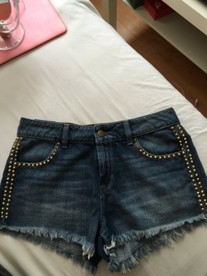 Guess Hotpants nieten Gold