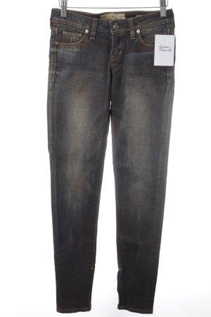 Guess Jeans vita bassa blu scuro-marrone chiaro aspetto di seconda mano