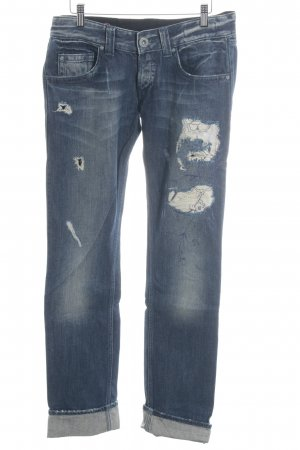 Guess Low Rise Jeans dark blue urban style