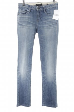 Guess Low Rise Jeans cornflower blue casual look